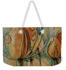 Hot Desert Sun Weekender Tote Bag by Cynthia Powell