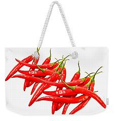 Hot Weekender Tote Bag by Gabriella Weninger - David