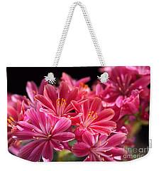Hot Glowing Pink Delight Of Flowers Weekender Tote Bag