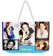 Hot Off The Presses Weekender Tote Bag by Silvana Vienne
