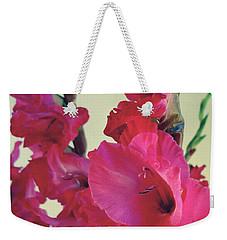 Hot Pink Flair Weekender Tote Bag