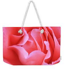Hot Pink Petals Weekender Tote Bag