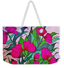 Hot Pink  Weekender Tote Bag
