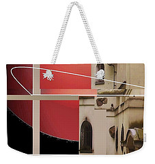 Hot Place Weekender Tote Bag by Andrew Drozdowicz