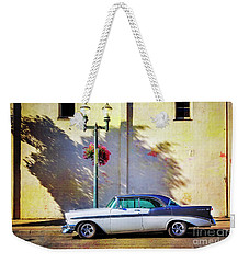 Weekender Tote Bag featuring the photograph Hot Rod Bel-air by Craig J Satterlee