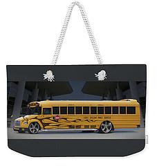 Hot Rod School Bus Weekender Tote Bag