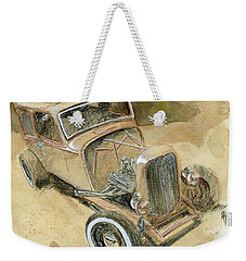 Hot Rod Tudor Weekender Tote Bag