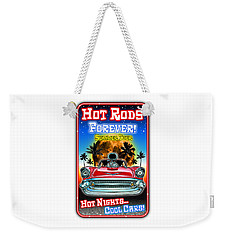 Hot Rods Forever Summer Tour Weekender Tote Bag