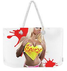 Hot Sauce Weekender Tote Bag