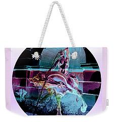 Neptune Sea Nymph Weekender Tote Bag