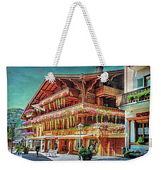 Weekender Tote Bag featuring the photograph Hot Spot by Hanny Heim