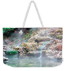 Weekender Tote Bag featuring the photograph Hot Springs In Hot Springs Ar by Diana Mary Sharpton