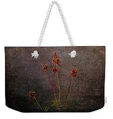 Weekender Tote Bag featuring the photograph Hot Summer Victims by Randi Grace Nilsberg