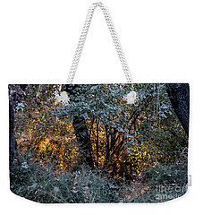 Hot Sunset In The Forest Weekender Tote Bag