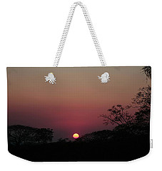 Hot Tropical Sunset Weekender Tote Bag by Ellen O'Reilly