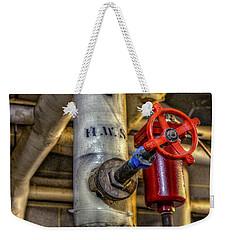 Hot Water Supply Weekender Tote Bag