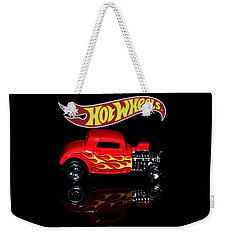 Weekender Tote Bag featuring the photograph Hot Wheels '32 Ford Hot Rod by James Sage