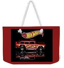 Weekender Tote Bag featuring the photograph Hot Wheels '55 Chevy Nomad by James Sage