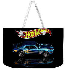 Weekender Tote Bag featuring the photograph Hot Wheels '67 Pontiac Firebird 400-1 by James Sage