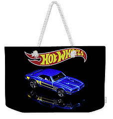 Weekender Tote Bag featuring the photograph Hot Wheels '67 Pontiac Firebird 400-2 by James Sage