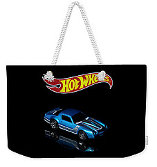Hot Wheels 67 Pontiac Firebird 400-3 Weekender Tote Bag