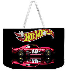 Weekender Tote Bag featuring the photograph Hot Wheels '70 Chevy Chevelle-1 by James Sage
