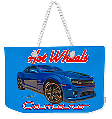Hot Wheels Camaro Weekender Tote Bag