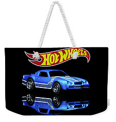 Weekender Tote Bag featuring the photograph Hot Wheels Gm Camaro Z28 by James Sage