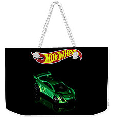Weekender Tote Bag featuring the photograph  Hot Wheels Mastretta Mxr by James Sage