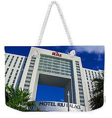 Hotel Riu Palace In Cancun Weekender Tote Bag