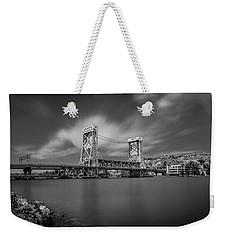Houghton Portage Bridge Weekender Tote Bag