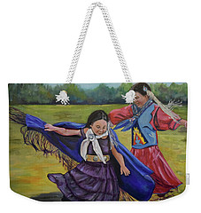 Houma Indian Dance Weekender Tote Bag
