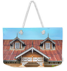 House # 109 Weekender Tote Bag by Nadia Sanowar