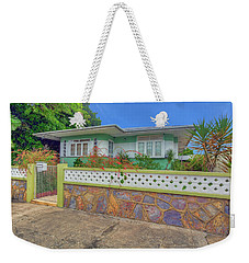 House # 11 Woodbrook Weekender Tote Bag by Nadia Sanowar