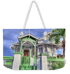 House # 50 Weekender Tote Bag by Nadia Sanowar