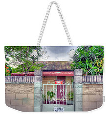 House # 71 Weekender Tote Bag by Nadia Sanowar