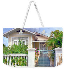 House #28 Weekender Tote Bag by Nadia Sanowar