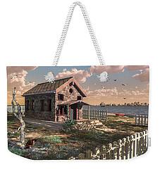House By The Sea Weekender Tote Bag