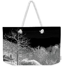 House In Winterland Weekender Tote Bag by Dennis Baswell
