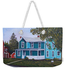 House In Seward Weekender Tote Bag
