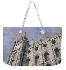 House Of Faith Weekender Tote Bag by Greg Collins
