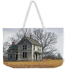 House Of Kansas Past Weekender Tote Bag