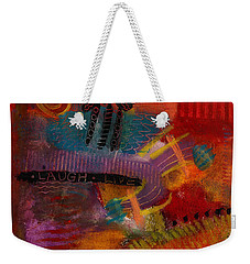House Of Laughter Weekender Tote Bag by Angela L Walker