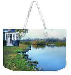 House On A Lake Weekender Tote Bag by Jill Battaglia