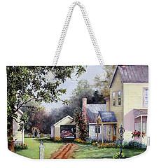 House On Bird Street Weekender Tote Bag