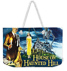 House On Haunted Hill Poster Classic Horror Movie  Weekender Tote Bag