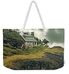House On The Cliff Weekender Tote Bag by Katie Wing Vigil