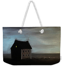 House On The Praerie Weekender Tote Bag by Tone Aanderaa