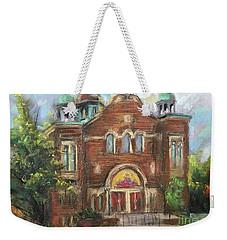 House On The Road Weekender Tote Bag