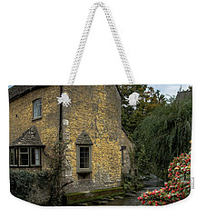Weekender Tote Bag featuring the photograph House On The Water by Melissa Lane